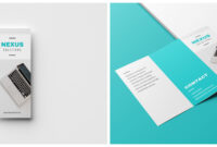 20+ Professional Trifold Brochure Templates, Tips & Examples for Three Panel Brochure Template