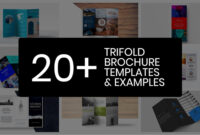20+ Professional Trifold Brochure Templates, Tips & Examples with regard to Fancy Brochure Templates