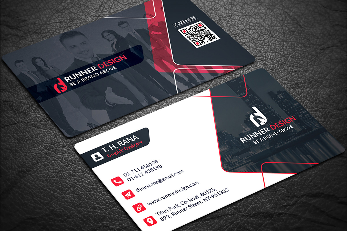 200 Free Business Cards Psd Templates - Creativetacos For Visiting Card Template Psd Free Download