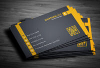 200 Free Business Cards Psd Templates – Creativetacos with Free Complimentary Card Templates