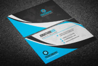 200 Free Business Cards Psd Templates – Creativetacos with regard to Calling Card Template Psd