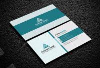 200 Free Business Cards Psd Templates - Creativetacos with Visiting Card Psd Template