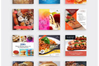 24 Instagram Food Banners Vol.1Elseven On with Food Banner Template