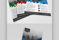 25 Business Flyer Templates (Creative Layout Designs throughout One Sided Brochure Template