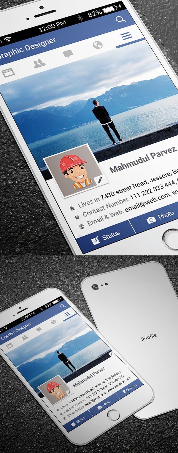25 New Modern Business Card Templates (Print Ready Design Within Iphone Business Card Template