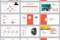 27+ Red Company Annual Report Powerpoint Templates | 2018 regarding Annual Report Ppt Template