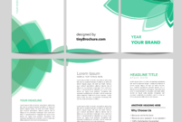 3 Panel Brochure Template Word Format Free Download regarding 3 Fold Brochure Template Free Download