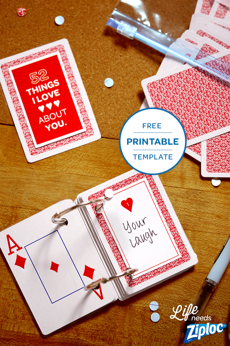 3 Small But Mighty Ways To Say I Love You   Anniversary Regarding 52 Reasons Why I Love You Cards Templates