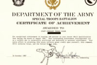 30 Army Award Certificate Template | Pryncepality intended for Army Certificate Of Achievement Template