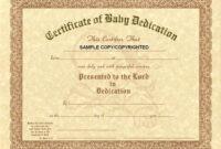 30 Baby Dedication Certificate Wording | Pryncepality with regard to Baby Dedication Certificate Template