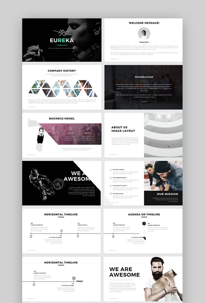30+ Best Powerpoint Slide Templates (Free + Premium Ppt Designs) Pertaining To Powerpoint Photo Slideshow Template