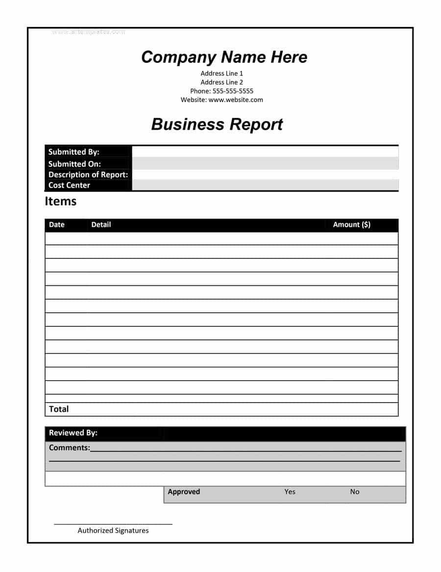 30+ Business Report Templates & Format Examples ᐅ Template Lab Pertaining To Report Writing Template Download