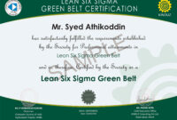 30 Free Black Belt Certificate Template | Pryncepality for Green Belt Certificate Template