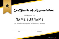 30 Free Certificate Of Appreciation Templates And Letters for Referral Certificate Template