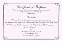 30 Free Editable Baby Dedication Certificates | Pryncepality throughout Baby Christening Certificate Template