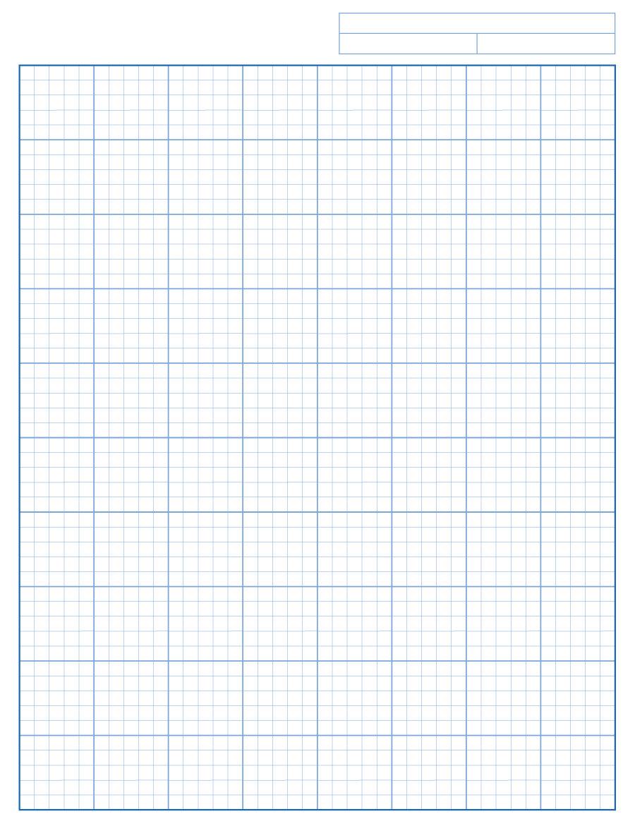 30+ Free Printable Graph Paper Templates (Word, Pdf) ᐅ For Graph Paper Template For Word