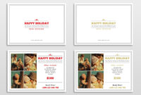 30 Holiday Card Templates For Photographers To Use This Year with Free Photoshop Christmas Card Templates For Photographers