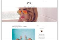 30 Popular Free WordPress Blog Themes 2019 – Colorlib throughout Blank Food Web Template