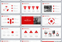 31+ Best Red Annual Report Powerpoint Template intended for Powerpoint Template Resolution