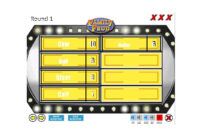 31 Great Family Feud Templates (Powerpoint, Pdf & Word) ᐅ intended for Family Feud Game Template Powerpoint Free