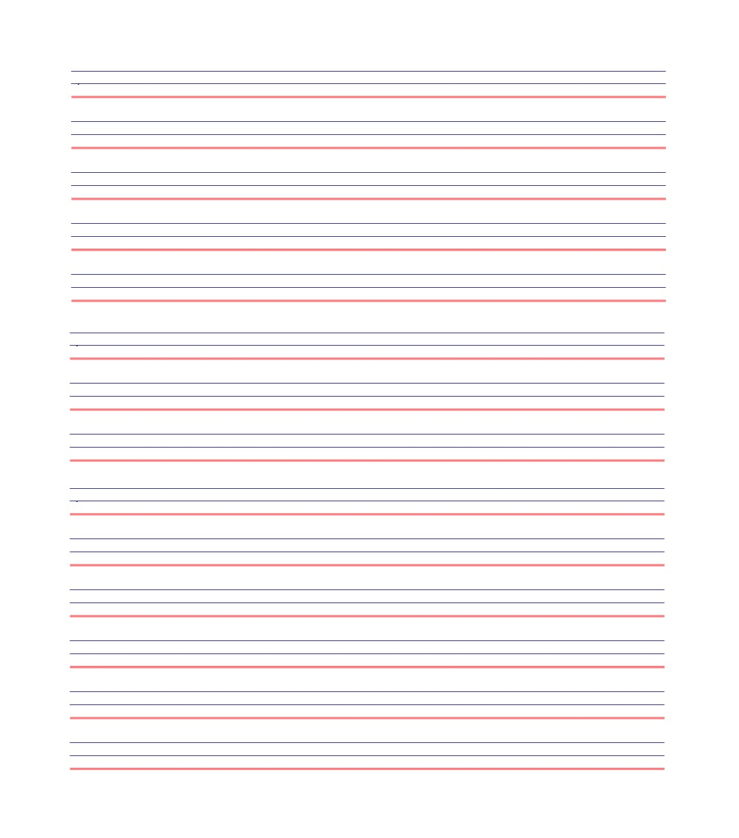 32 Printable Lined Paper Templates ᐅ Template Lab Intended For Notebook Paper Template For Word 2010