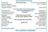 33 Free Church Bulletin Templates (+Church Programs) ᐅ with Church Program Templates Word