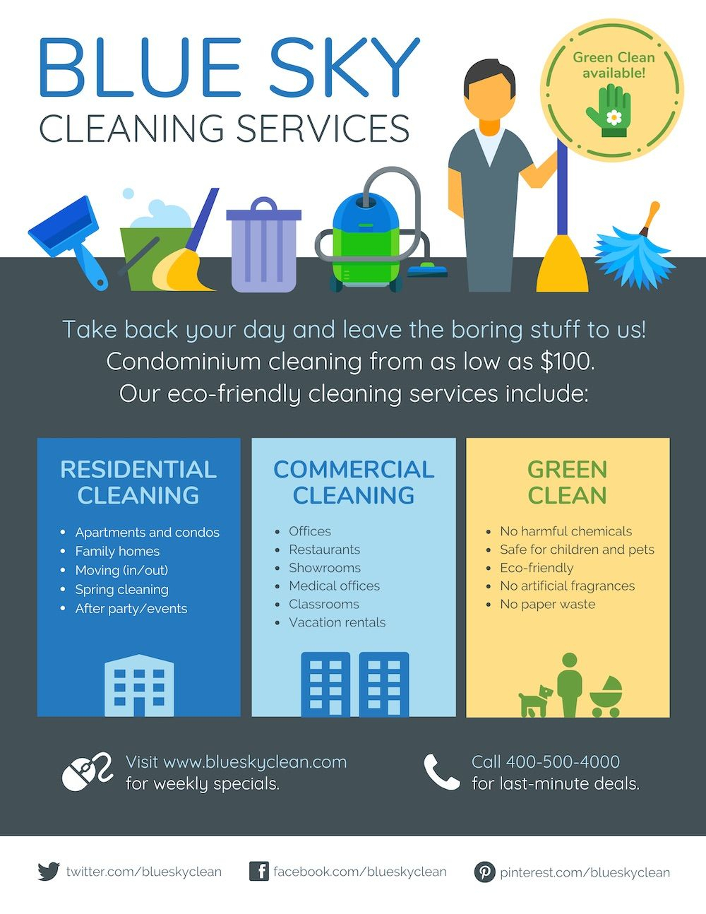 35+ Highly Shareable Product Flyer Templates & Tips With Regard To Commercial Cleaning Brochure Templates