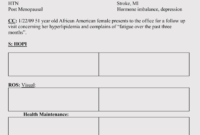 35+ Soap Note Examples (Blank Formats & Writing Tips) with regard to Blank Soap Note Template