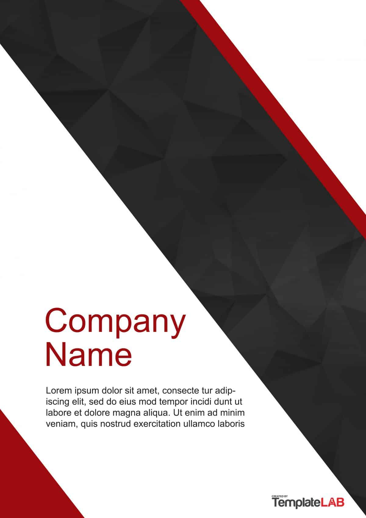 39 Amazing Cover Page Templates (Word + Psd) ᐅ Template Lab For Word Title Page Templates
