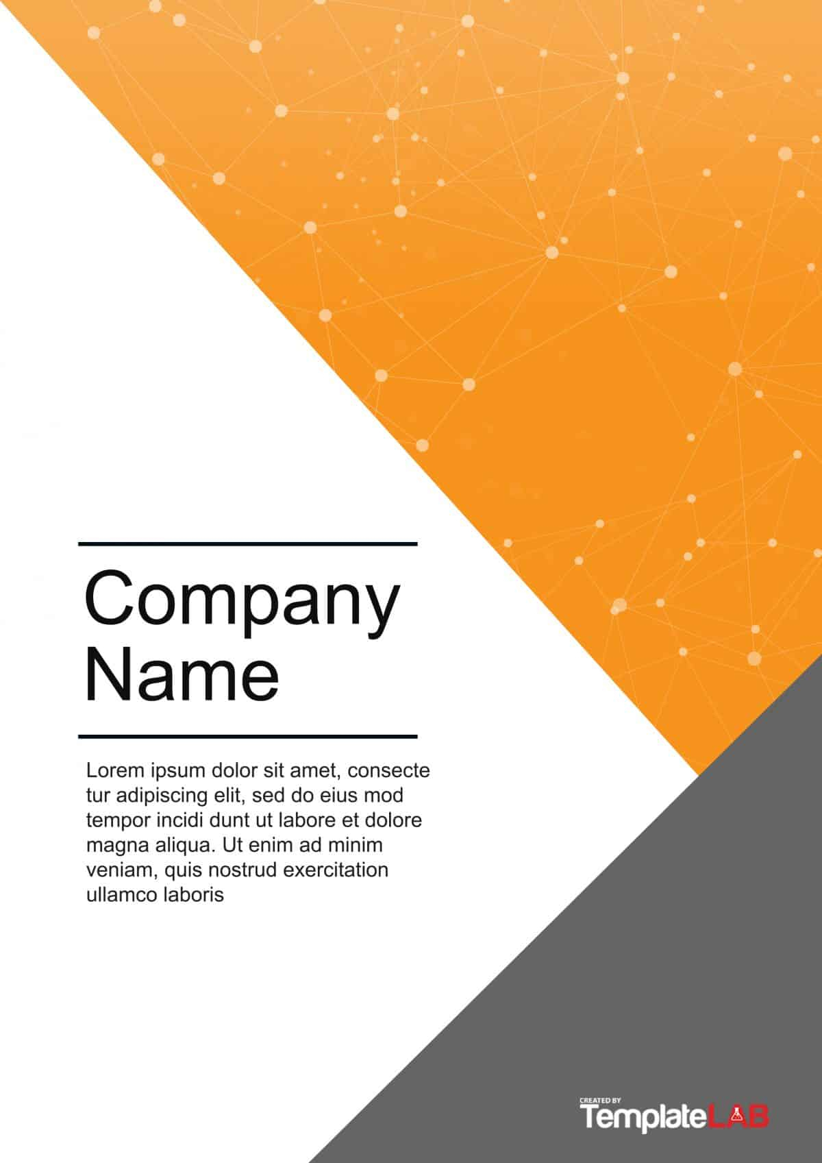 39 Amazing Cover Page Templates (Word + Psd) ᐅ Template Lab With Regard To Word Title Page Templates