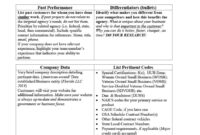 39 Effective Capability Statement Templates (+ Examples) ᐅ in Capability Statement Template Word