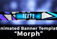 "3D Advanced Minecraft Server Banner Template (Gif) – ""morph"" inside Animated Banner Templates"