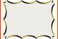 4+ Award Certificate Template – Bookletemplate intended for Award Certificate Border Template