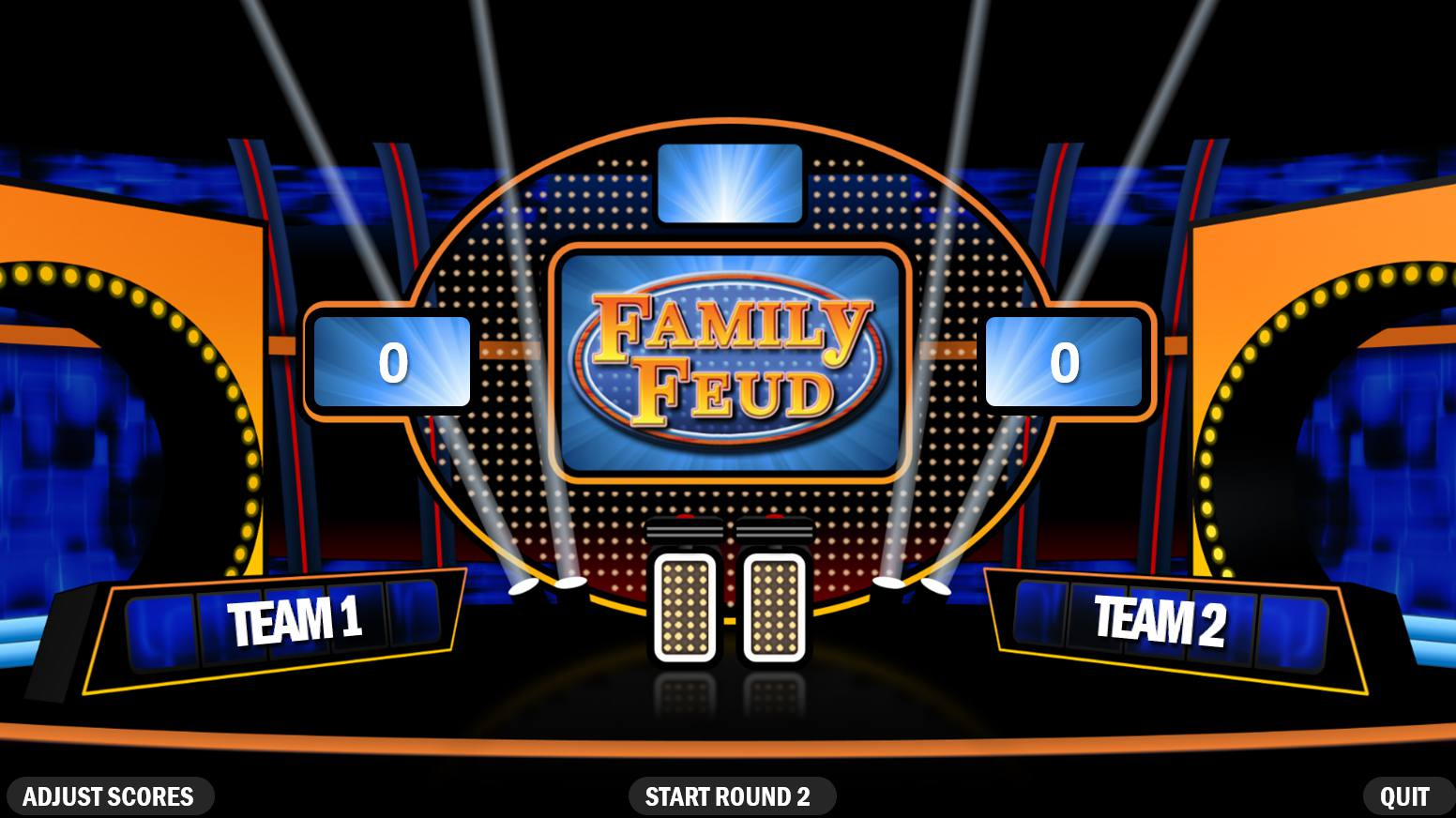 4 Best Free Family Feud Powerpoint Templates Intended For Family Feud Powerpoint Template With Sound