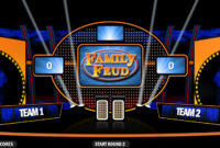 4 Best Free Family Feud Powerpoint Templates within Family Feud Game Template Powerpoint Free