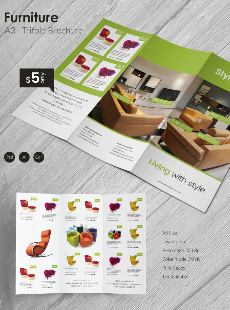 4 Fold Brochure Template Gallery Four Panel Free Print Ad Throughout 4 Fold Brochure Template Word