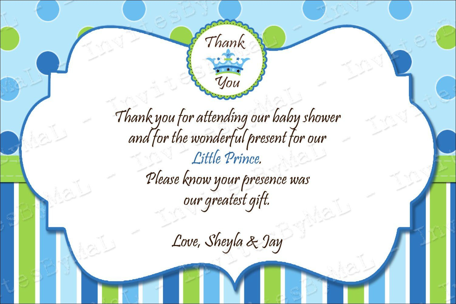 40 Beautiful Baby Shower Thank You Cards Ideas   Baby   Baby For Template For Baby Shower Thank You Cards