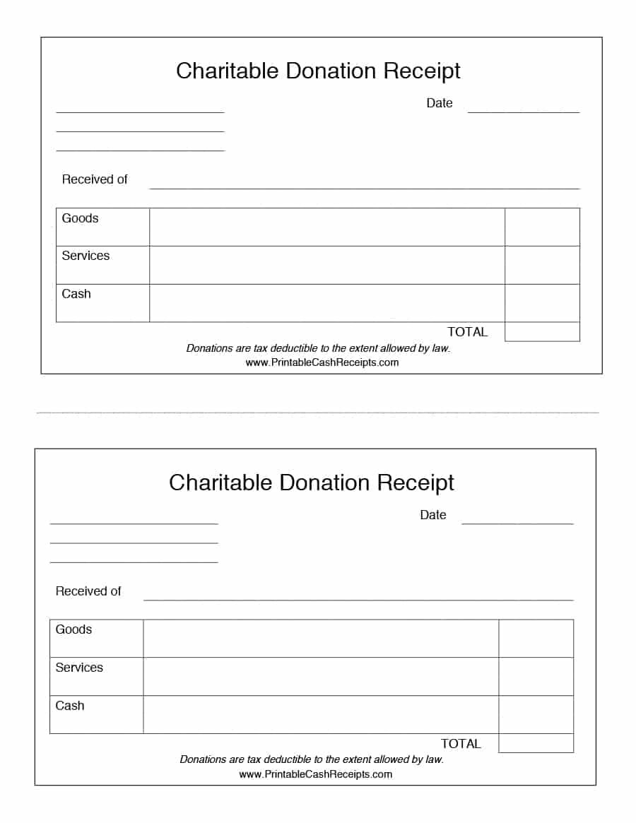 40 Donation Receipt Templates & Letters [Goodwill, Non Inside Donation Report Template