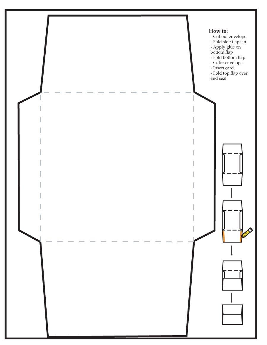 40+ Free Envelope Templates (Word + Pdf) ᐅ Template Lab Regarding Envelope Templates For Card Making