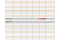 40 Free Timesheet Templates [In Excel] ᐅ Template Lab With Weekly Time Card Template Free
