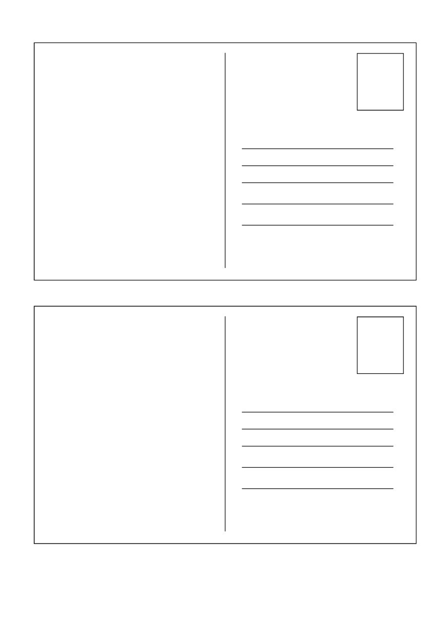 40+ Great Postcard Templates & Designs [Word + Pdf] ᐅ For Free Blank Postcard Template For Word