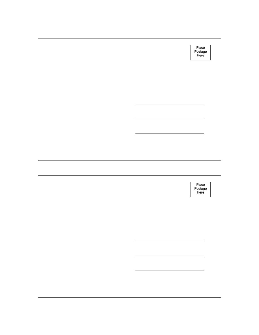 40+ Great Postcard Templates & Designs [Word + Pdf] ᐅ Throughout Postcard Size Template Word
