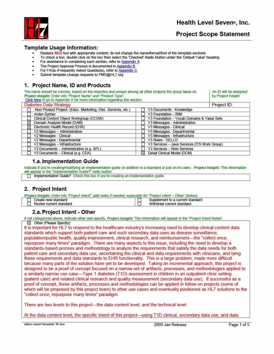 40+ Project Status Report Templates [Word, Excel, Ppt] ᐅ In Inside Project Implementation Report Template