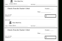 43+ Fake Blank Check Templates Fillable Doc, Psd, Pdf!! for Blank Business Check Template Word