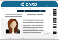 43+ Professional Id Card Designs – Psd, Eps, Ai, Word | Free pertaining to Id Card Template Word Free