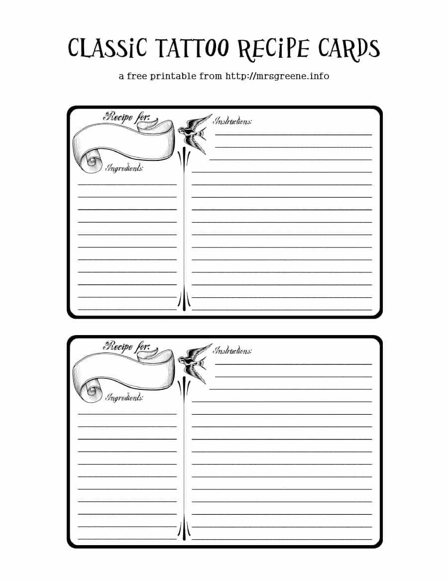 44 Perfect Cookbook Templates [+Recipe Book & Recipe Cards] Inside Free Recipe Card Templates For Microsoft Word
