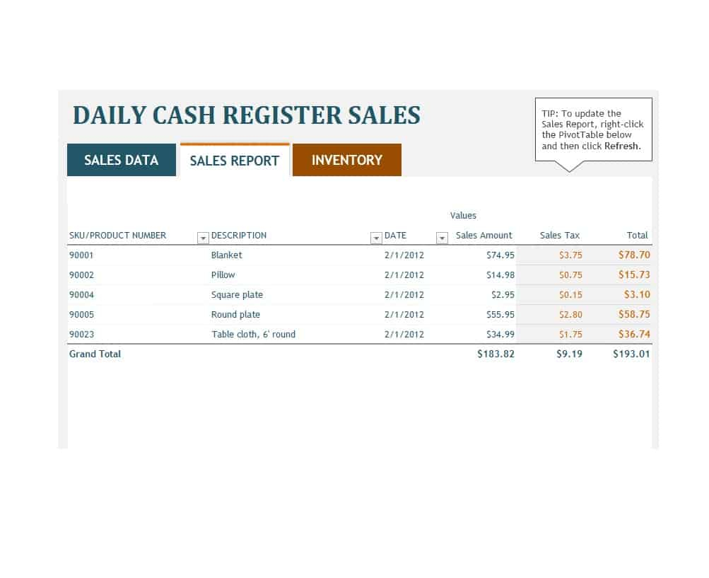 45 Sales Report Templates [Daily, Weekly, Monthly Salesman Regarding Sale Report Template Excel