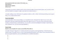 47 Editable Syllabus Templates (Course Syllabus) ᐅ Template Lab with Blank Syllabus Template