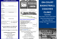 5 Best Images Of Basketball Camp Brochure – Basketball Camp inside Basketball Camp Brochure Template