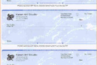 5+ Blank Payroll Check Paper | Secure Paystub | Chicano Art throughout Blank Business Check Template